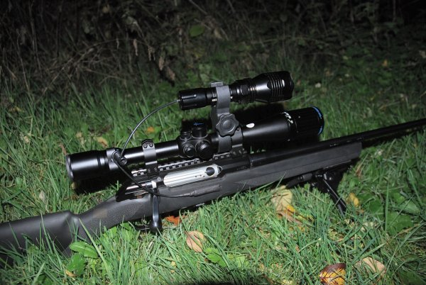 Shepherd Hunting and Tactical Accessories LED Flashlight, Laser Pointer, Riflescopes