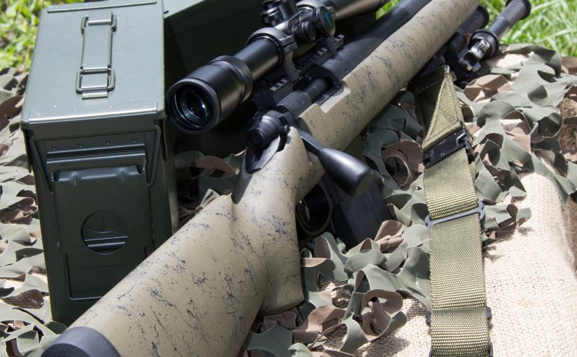 Shpeherd 3x10 P2 Long Range BDC with Range Finding Reticle Mounted to 700 Rem. Good out to 1000 yards!