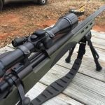 Shepherd Scopes V1 Mounted to 308 Rifle for Long Range Shooting out to 1000 yards