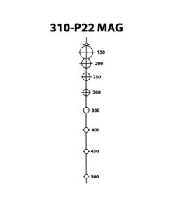 Shepherd Scopes P22 Mag Reticle for 22 caliber Magnum riflescopes. Highly accurate at long distances.
